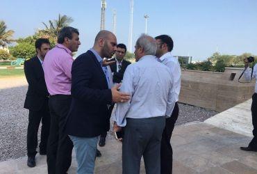 حضور اعضای هیات مدیره یکی از بزرگترین شرکت های ساختمانی ایران در جزیره کیش